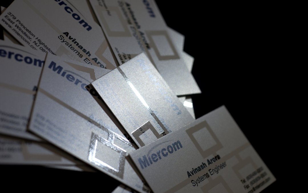 Miercom Business Cards