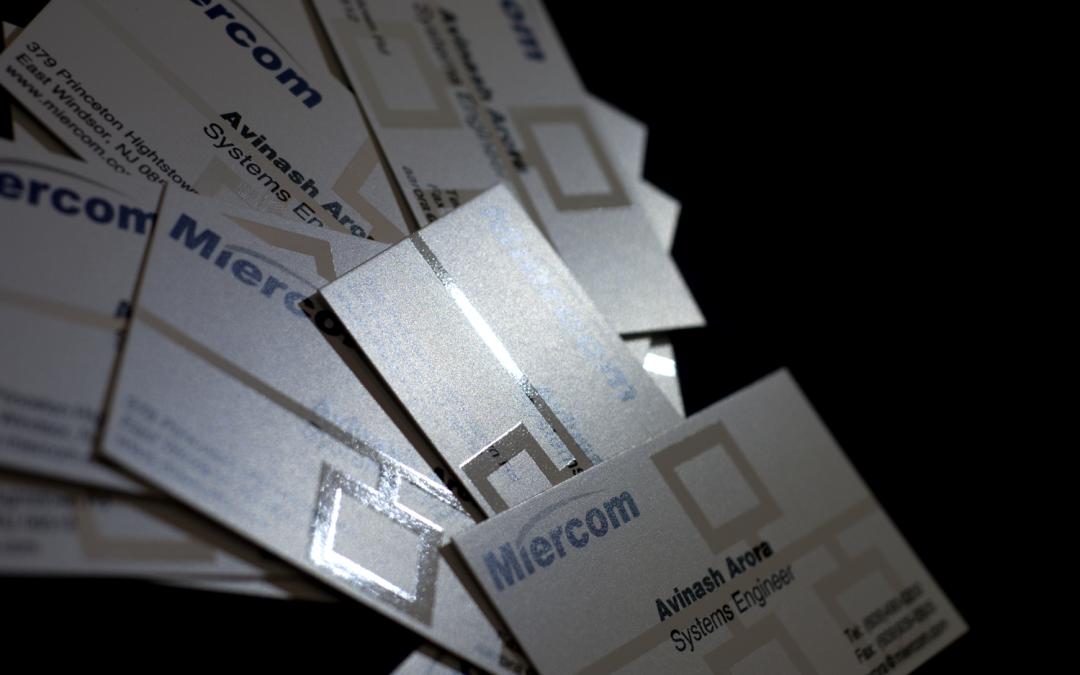 Miercom Business Cards
