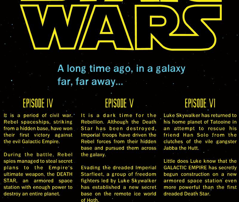 Star Wars!!!