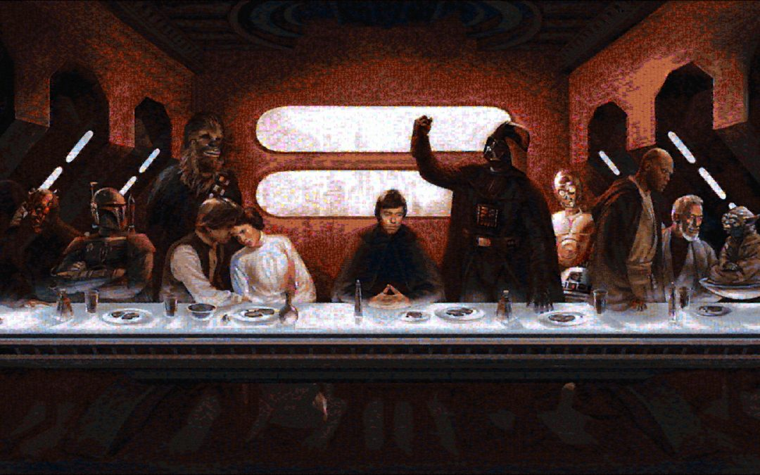 Star Wars Last Supper Mosaic (New)