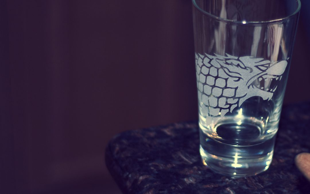House Stark Glass
