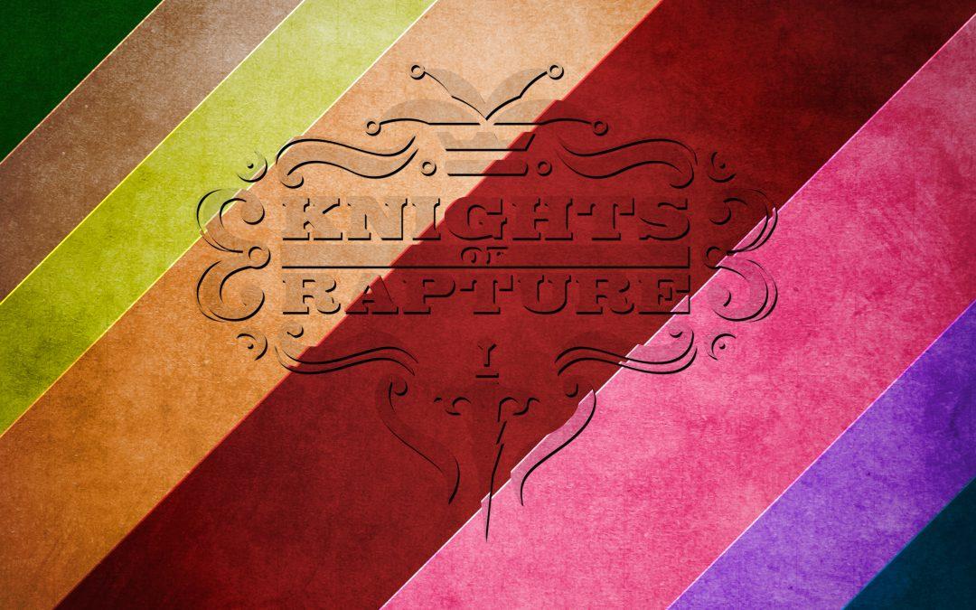Rainbow Grunge Texture Piece