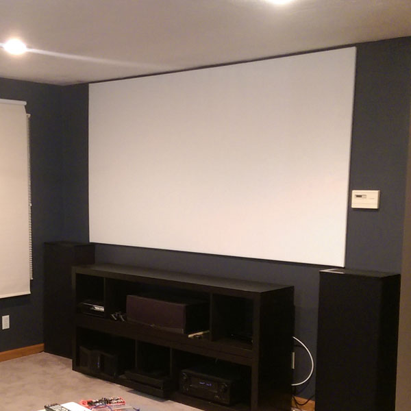 Projector Screen Build
